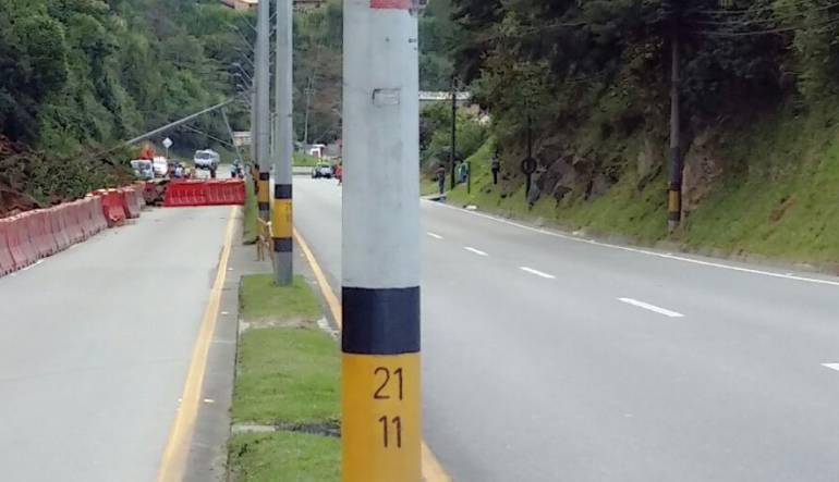 Este lunes habrá cierre de la Autopista Medellín Bogotá