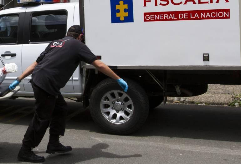 Dos cadáveres fueron hallados en la Quebrada Santa Elena, en el centro de Medellín