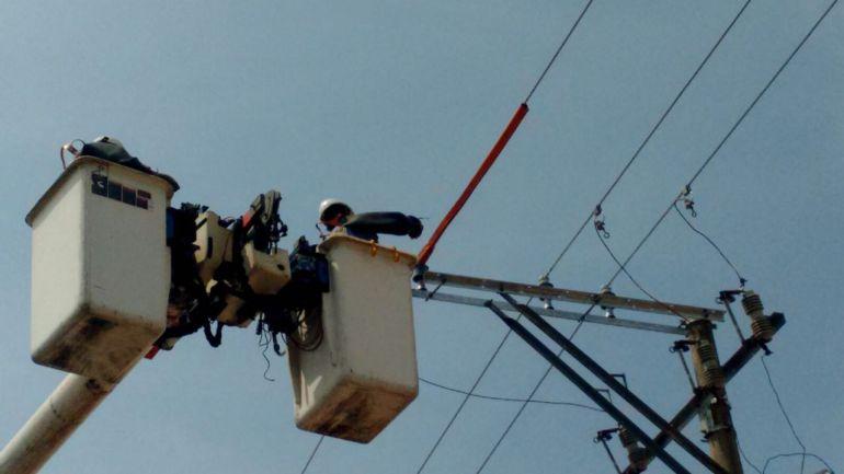 Sin la Vía 40 por cambios de redes: Por cambio de redes sin luz sector industrial de Barranquilla
