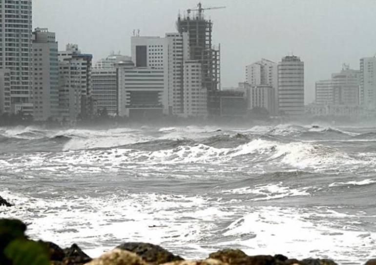 Segundo frente frío del año en el mar Caribe colombiano: Segundo frente frío del año en el mar Caribe colombiano