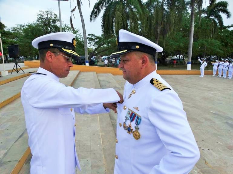 Capitán Carlos Arturo Rodríguez, nuevo comandante de Guardacostas del Caribe: Capitán Carlos Arturo Rodríguez, nuevo comandante de Guardacostas del Caribe