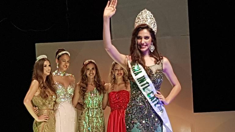 Venezolana quedó como primera finalista en el Reinado Internacional del Café