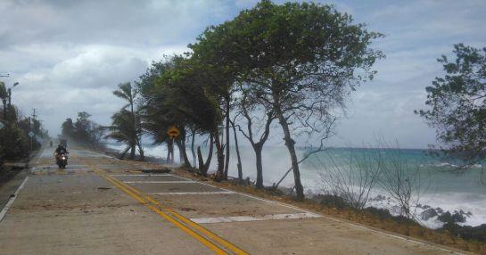 Emergencia por ola invernal en San Andrés: Cierran playas en San Andrés por el paso de un frente frío