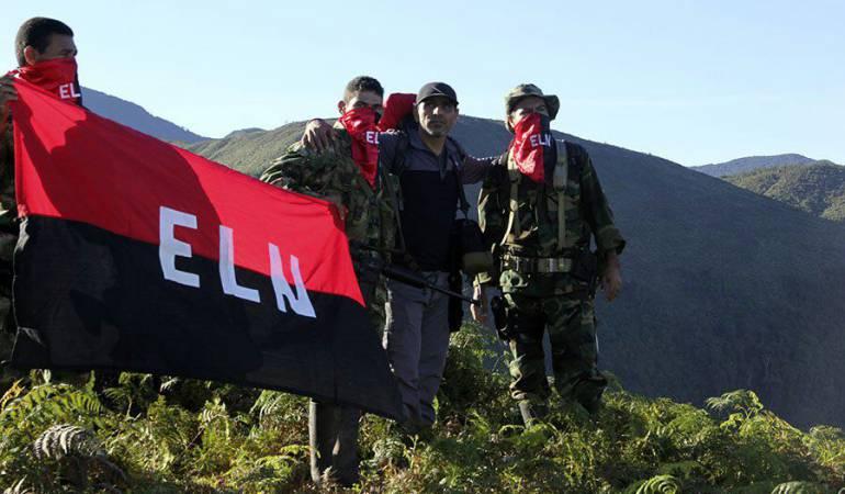 Presencia del Eln en Boyacá: Aparente presencia del Eln en zona rural de municipios de Boyacá, Arauca y Casanare