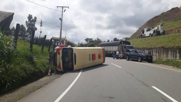 Darién: Al menos seis heridos en accidente de tránsito en Calima