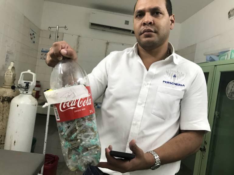 Chadán Rosado Taylor, personero distrital. Foto: Caracol Radio Santa Marta