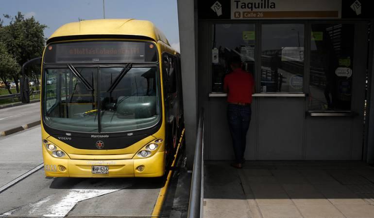 Capturaron a tres venezolanos en Bogotá por intento de robo en Trasmilenio