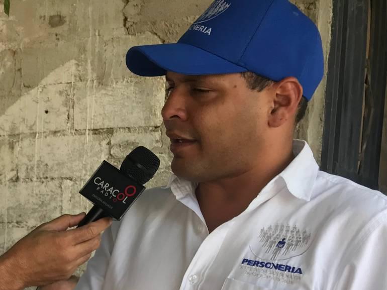 Chadán Rosado Taylor, Personero Distrital de Santa Marta. /FOTO CARACOL RADIO