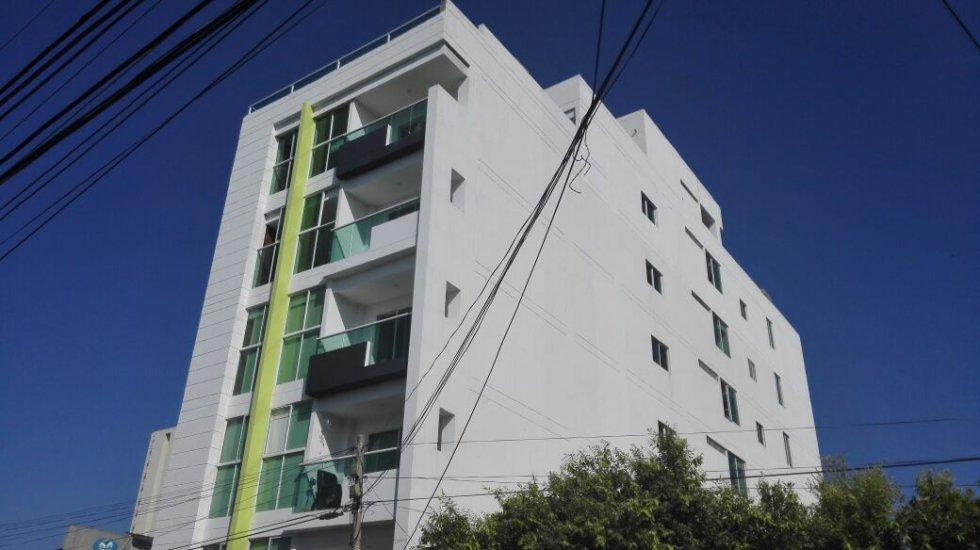 Edificio Tsalach. Alto Bosque. 5 pisos, 10 apartamentos.
