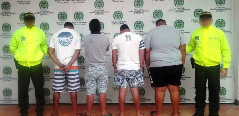 Desarticulada banda delincuencial Los Desalmados en Cartagena, vinculados en tres homicidios: Desarticulada banda delincuencial Los Desalmados en Cartagena, vinculados en tres homicidios