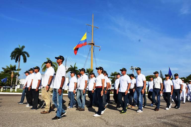 Egresados celebran 20 años de ingreso a la Escuela Naval de Cadetes de Cartagena: Egresados celebran 20 años de ingreso a la Escuela Naval de Cadetes de Cartagena