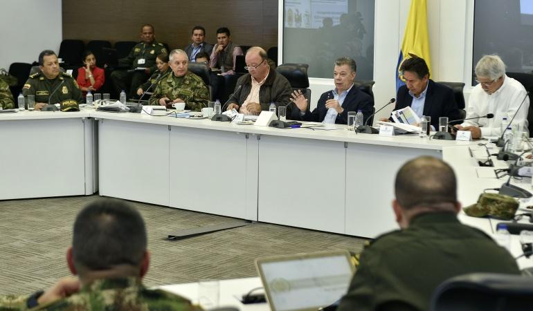 Santos reforzará la seguridad en Bogotá con 500 nuevos policías