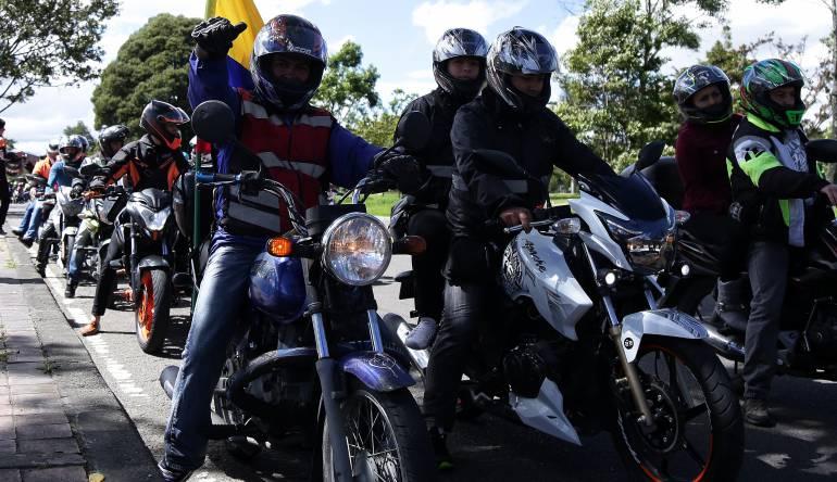 Plan tortuga en Bogotá deja más de 80 motos inmovilizadas