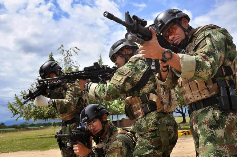 Ejército mantiene ofensiva en oriente del país por paro armado de ELN: Ejército mantiene ofensiva en oriente del país por paro armado de ELN
