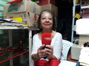 Nelly Aldana líder de la central minorista, espera que este si sea el año de la reactivación de esta plaza de mercado