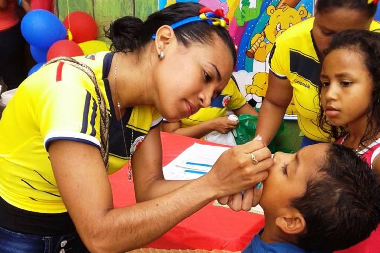 67 puntos de vacunación fijos y 107 móviles para jornada en Bolívar: 67 puntos de vacunación fijos y 107 móviles para jornada en Bolívar
