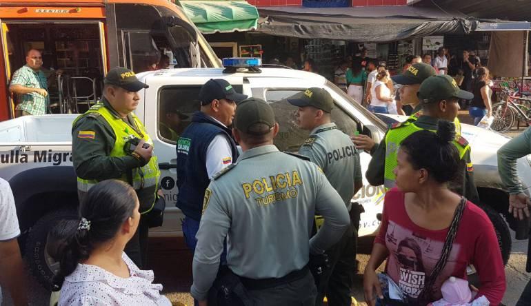 Migración Colombia deporta a 11 extranjeros y expulsa otro de Valledupar