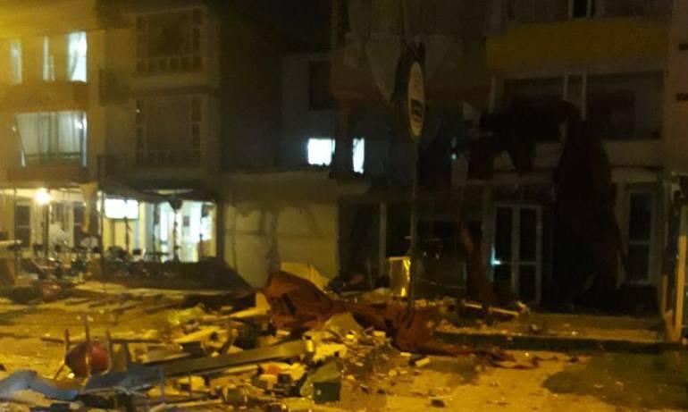 Tres heridos dejó fuerte explosión al norte de Tunja