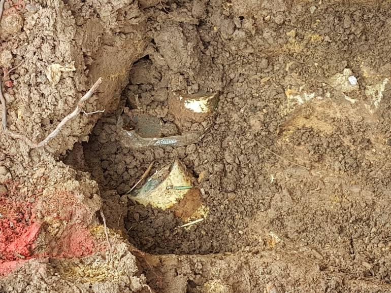 Ejército desactiva 25 minas antipersonal cerca de una vivienda en Santander: Ejército desactivó 25 minas anti personal cerca de vivienda en Santander