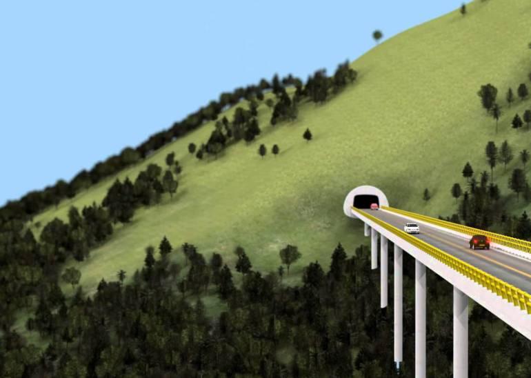Inician las obras del Túnel del Toyo en Antioquia