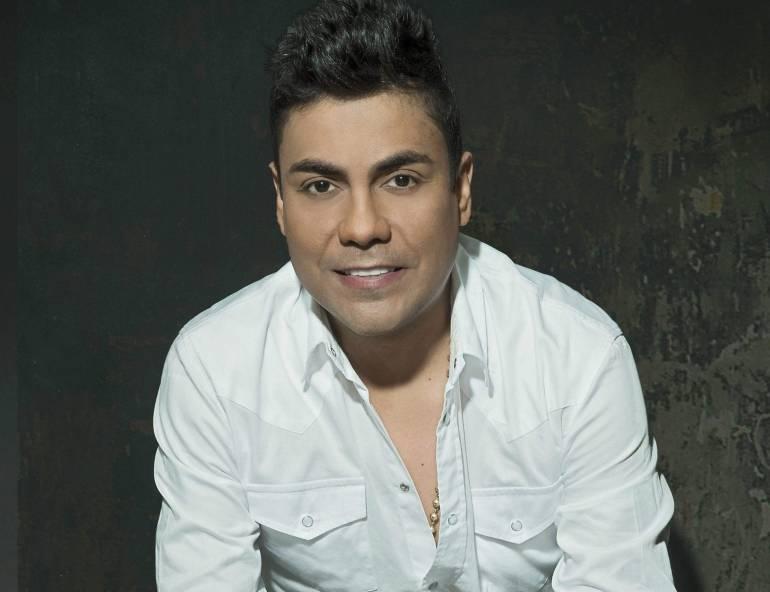 Jorge Iván 'Churo' Díaz, cantante vallenato capturado.