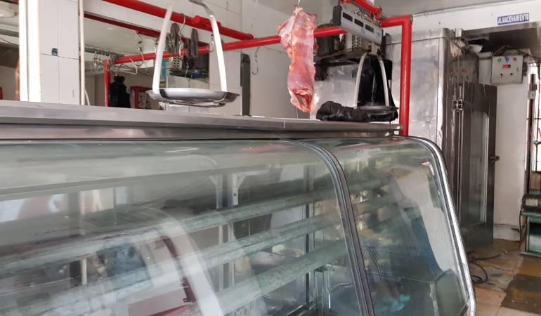 En Irra no hay carne por el cierre de la vía Manizales - Medellín