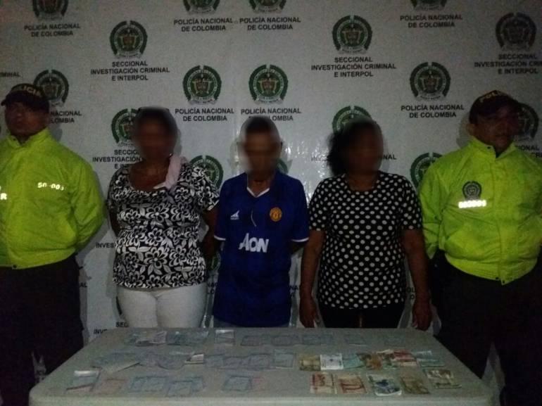 Tres capturas por red de chance ilegal en Cartagena: Tres capturas por red de chance ilegal en Cartagena