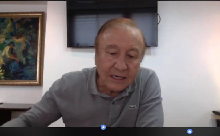 ALCALDE RODOLFO HERNÁNDEZ BUCARAMANGA: Alcalde invita a comuneros a tener candidatos propios al concejo