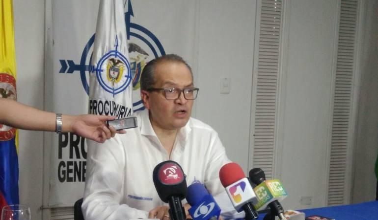 Procurador General de la Nación, Fernando Carrillo.