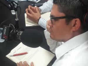 Adrián Trejos, director noticias Caracol Radio Armenia
