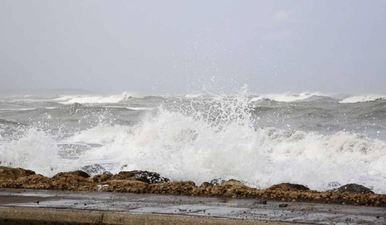 Dimar advierte sobre difíciles condiciones de viento en el Caribe