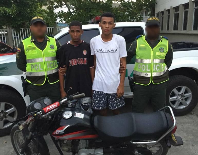 Ofensiva contra hurto de motos deja 5 capturados en Cartagena
