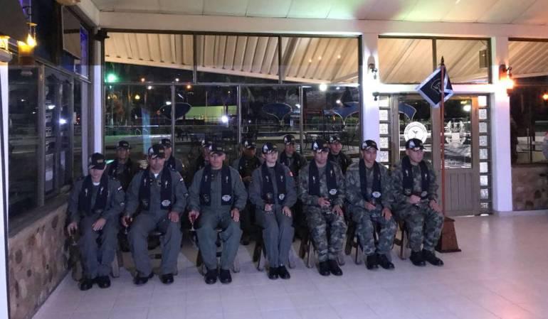 Entrenamiento de pilotos en Melgar: Pilotos de varios países entrenan en Melgar, Tolima