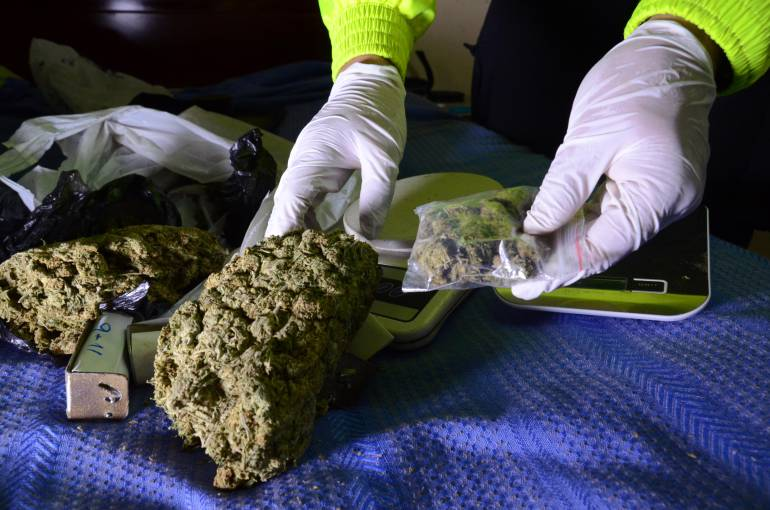 Cayeron los 'Garro', los reyes de la marihuana en Colombia.