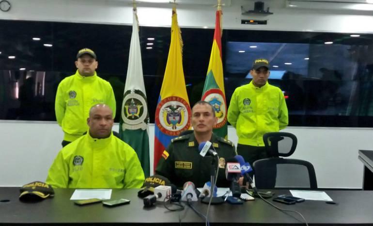 Capturan a cuatro sujetos con material bélico en Barranquilla