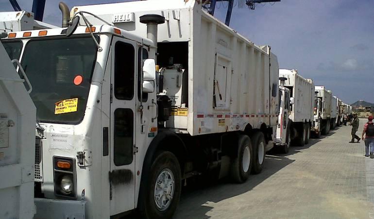 Camiones de Basuras