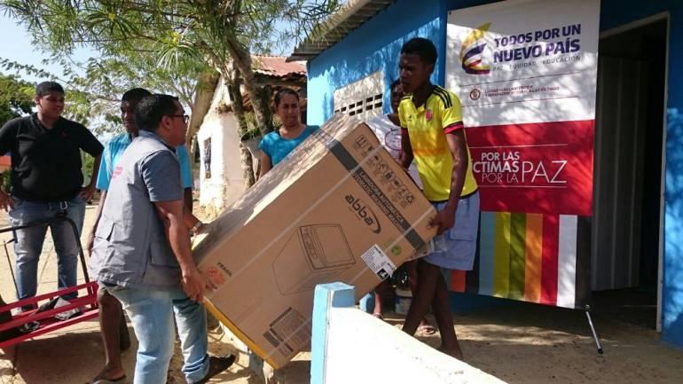 Unidad para las Víctimas en Bolívar apoya a familias retornadas