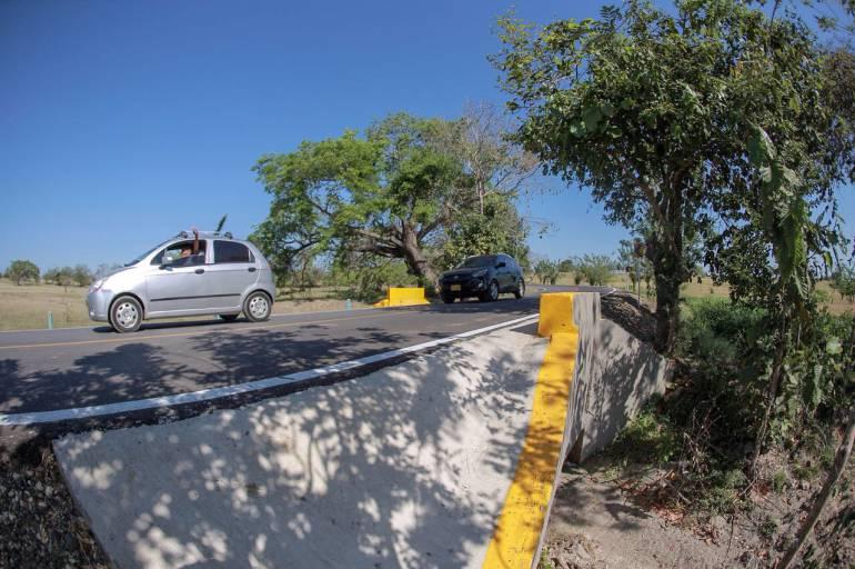 Gobernación de Bolívar inaugura vía Cascajal - Magangué