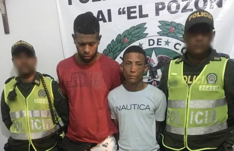 11 capturados por hurto en varias zonas de Cartagena
