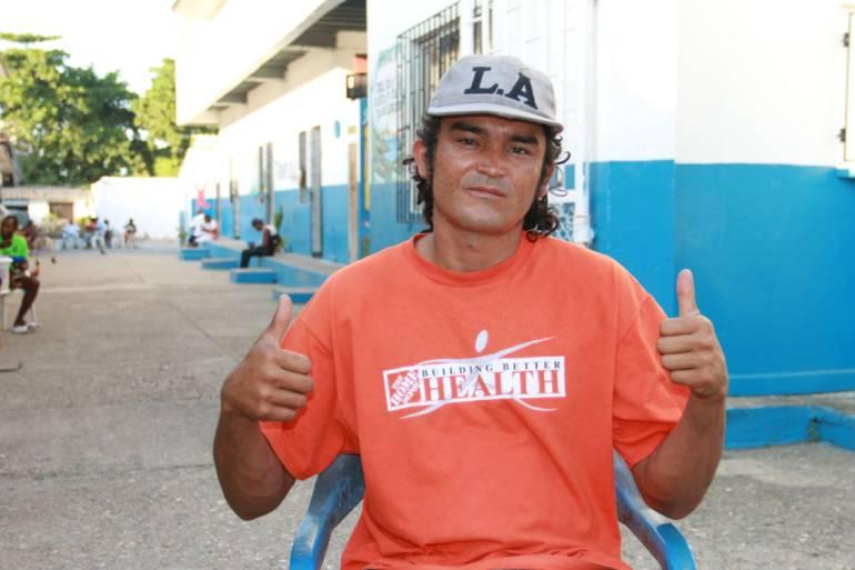 Pereirano en condición de calle se unió a albergue distrital en Cartagena