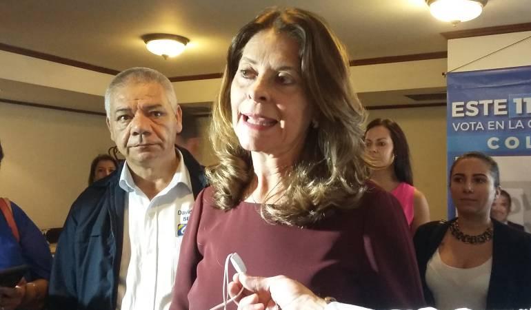 Precandidata presidencial, Martha Lucía Ramírez
