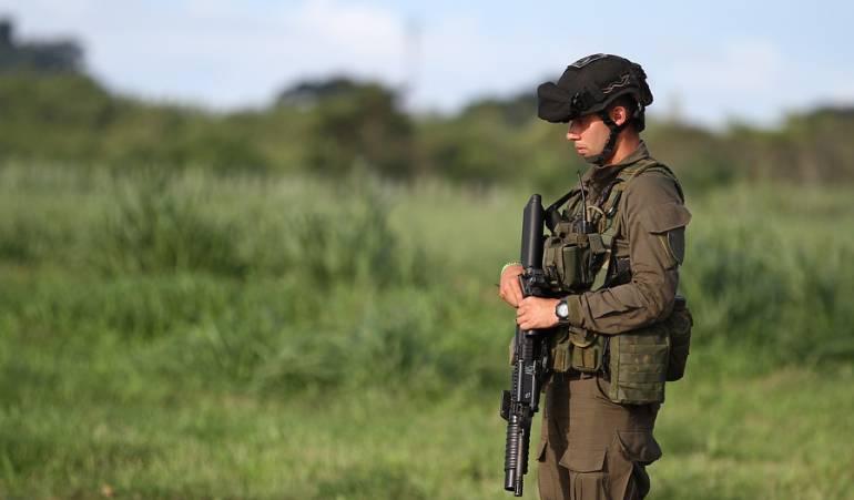 liberación de policias en nariño: Libres policías que estaban retenidos en Nariño