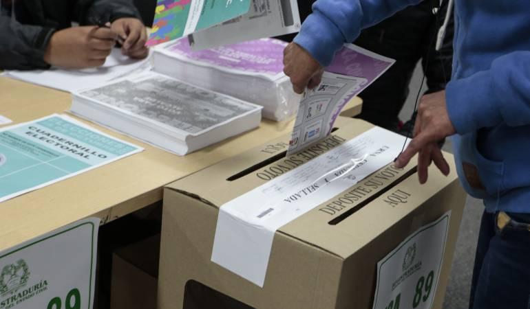 ALERTA, RIESGO, ELECCIONES: Tres municipios en Santander, en el mapa de riesgo para las elecciones