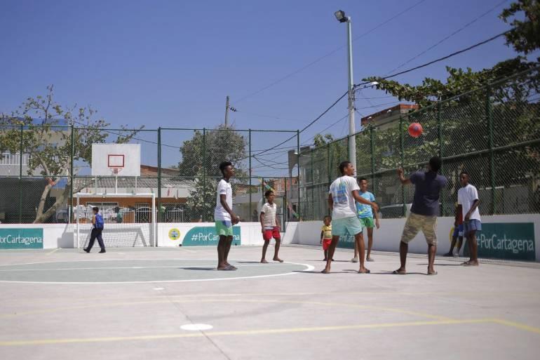 19 mil habitantes de Cartagena se benefician con obras que adelanta Edurbe: 19 mil habitantes de Cartagena se benefician con obras que adelanta Edurbe