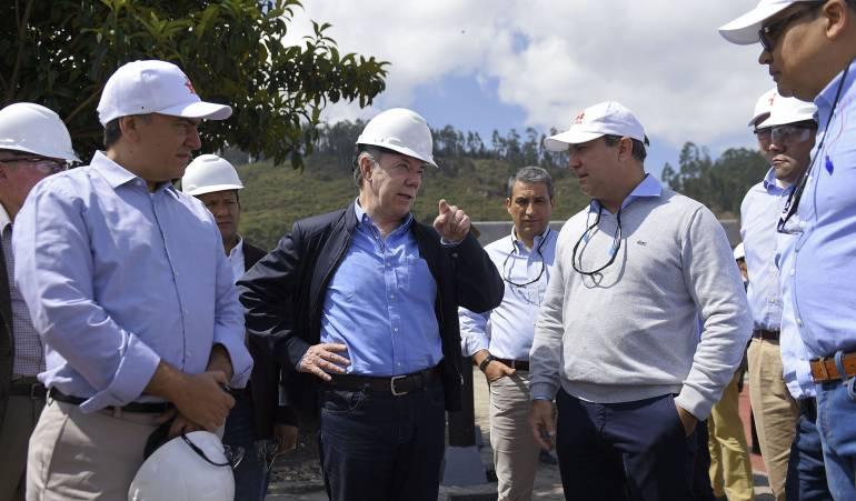 Santos rechazó agresiones a las campañas políticas del partido Farc