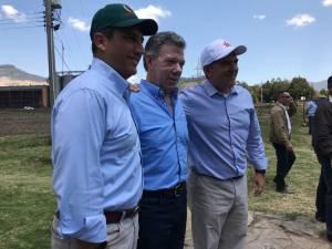 Colombia es capaz de ser despensa del mundo y potencia agropecuaria: Santos: Colombia es capaz de ser despensa del mundo y potencia agropecuaria: Santos