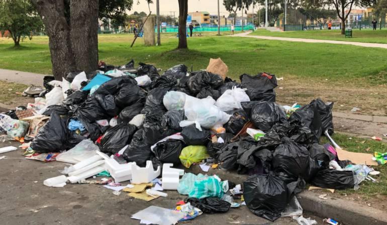 Problema de basuras en Bogotá: Persiste la emergencia sanitaria por basuras: Alcaldía de Bogotá