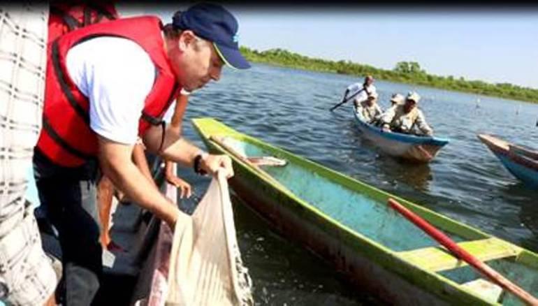 Aguas de Cartagena intensifica repoblamiento piscícola: Aguas de Cartagena intensifica repoblamiento piscícola