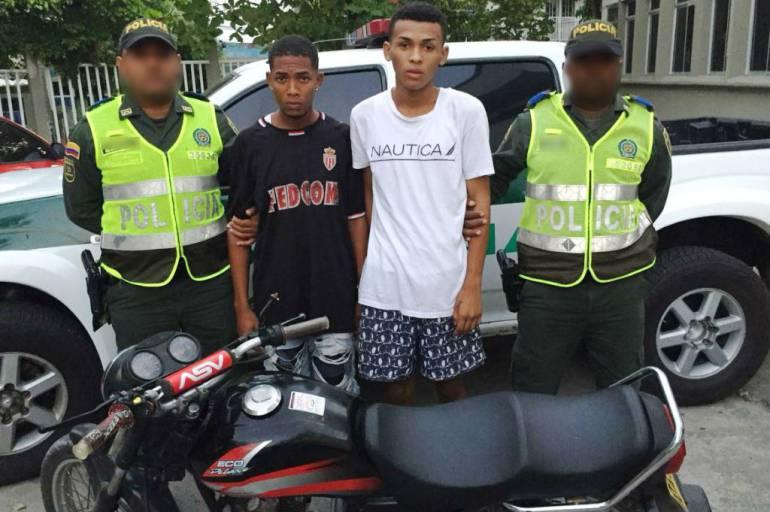 Ofensiva contra el hurto de motocicletas en Cartagena: Ofensiva contra el hurto de motocicletas en Cartagena