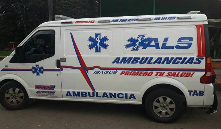 Se intensifican controles a ambulancias en Ibagué